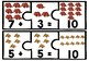 Addition Cards 3 Piece Puzzles