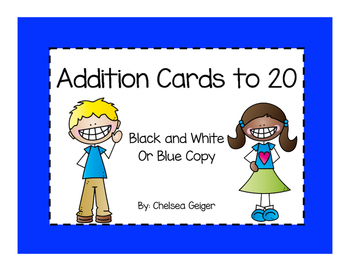 Addition Cards to 20