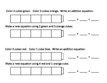 Addition Cubes