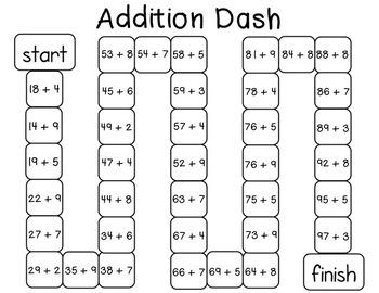Addition Dash