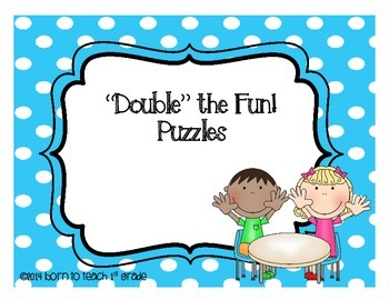 Addition Double Fact Puzzles