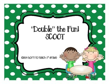 Addition Double Fact SCOOT!