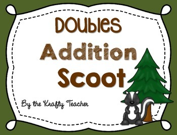 Addition Doubles Scoot (to 20), First, Second, Intervention