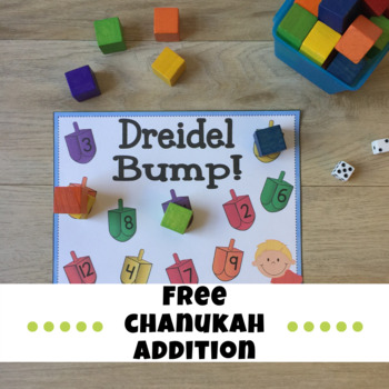 Addition- Chanukah Dreidel Bump!