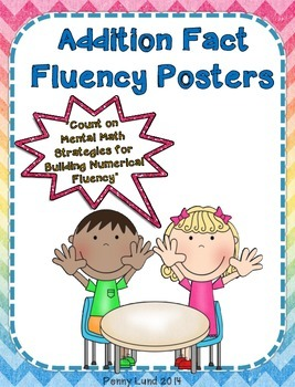Addition Fact Fluency Posters