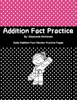 Addition Fact Practice