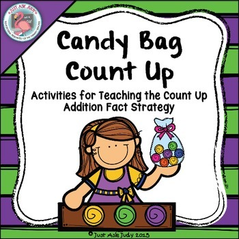 Addition Fact Strategy Count Up Candy Theme