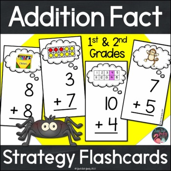 Addition Fact Strategies Flashcards