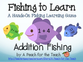 Addition Facts Fishing - Self-Correcting with Facts to 11