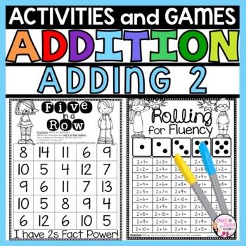 Addition Practice Activities Plus 2