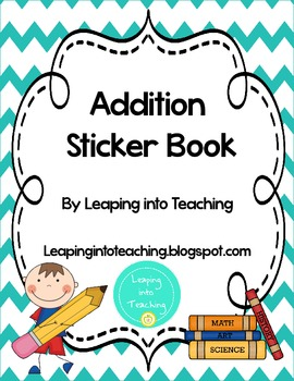 Addition Facts Sticker Book