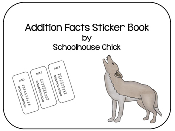 Addition Facts Sticker Book