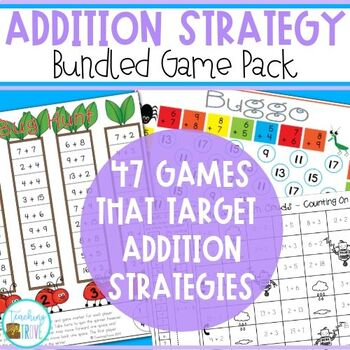 Addition Facts Strategies - Bundled Pack
