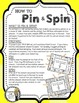 Addition Facts (Sums of 10-20) - A Pin & Spin Activity