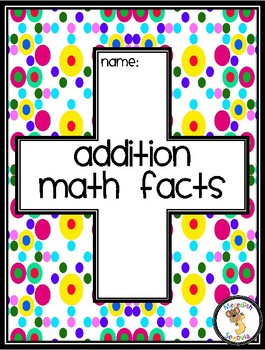 Addition Fast Fact Tracker