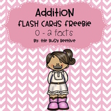 Addition Flash Cards FREEBIE