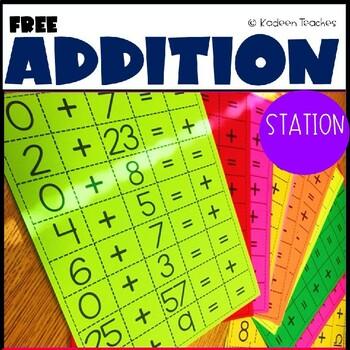 Addition Fluency Fun
