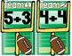 Addition Football (Facts to 10)