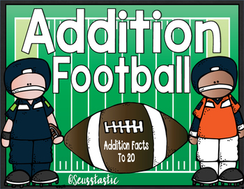 Addition Football (Facts to 20)