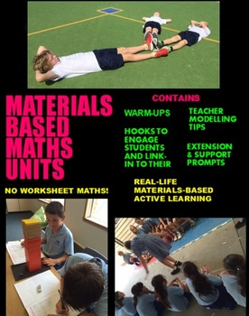 Addition & Subtraction Full Unit Plan: 50+ Materials Maths
