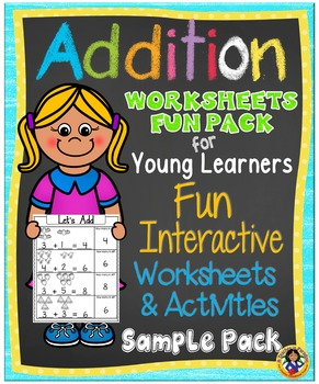 Addition Fun Worksheets and Activity Set for Young Learner
