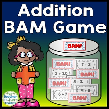 Addition Game - Addition BAM Game - Zap, Kaboom!
