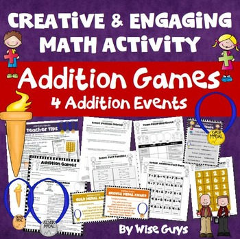 Addition Games: Four Creative Events