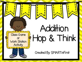 Addition Hop and Think Game