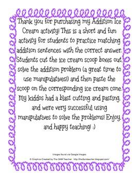 Addition Ice Cream Scoops