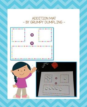 Addition Mat {FREEBIE}