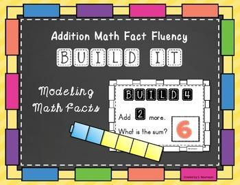 Addition Math Fact Fluency: Build It
