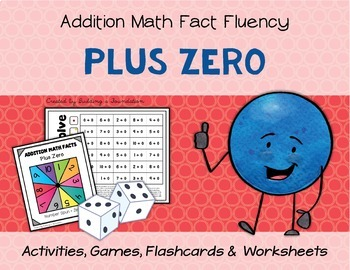 Addition Math Fact Fluency: Plus Zero (+0)