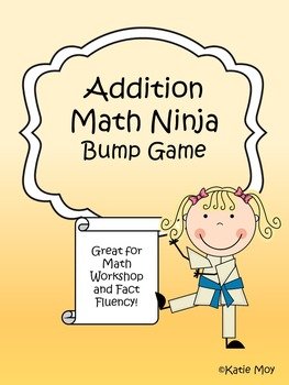 Addition Math Ninja Bump {NO PREP}
