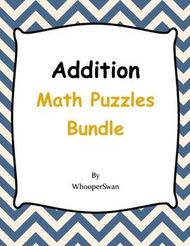 Addition Puzzles Bundle
