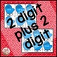 Christmas Addition | 2 digit plus 2 digit