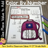 Color By Number Addition of Multi-Digit Whole Numbers Within 1000