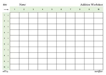 Addition, Multiplication, Subtraction - Printable Worksheets
