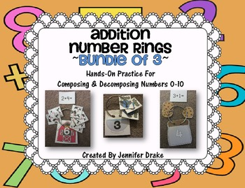 Addition Number Rings 0-10 ~Bundled Edition Of 3~ Hands On