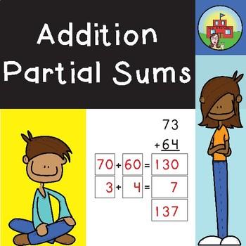 Addition: Partial Sums (2 Digit)