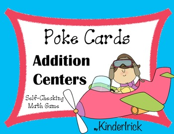 Addition Poke Cards