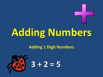Addition Powerpoint - Single Digit Addition