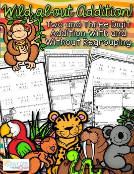 Addition Practice Pages