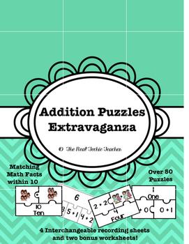 Addition Puzzle Extravaganza