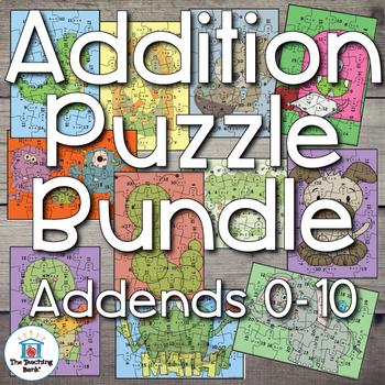 Addition Puzzle Bundle