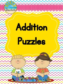Addition Puzzles & Math Story Writing Prompts