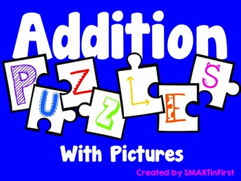 Addition Puzzles with Pictures