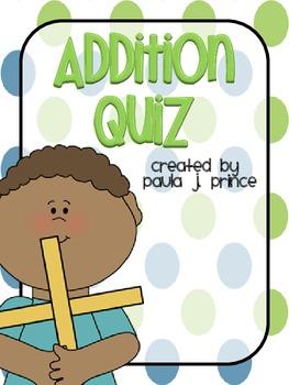 Addition Quiz