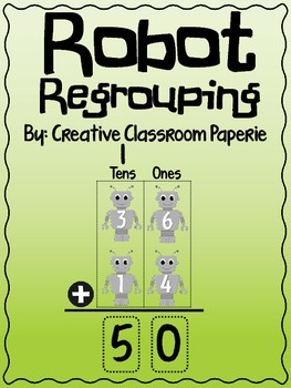 Addition Robot Regrouping