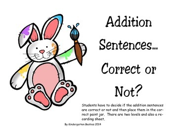Addition Sentences