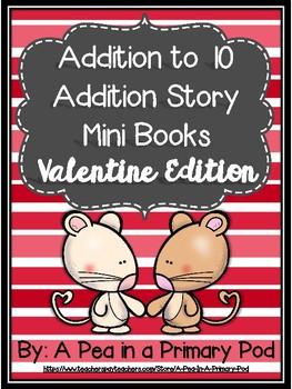 Addition Story Mini Books (Valentine Edition)